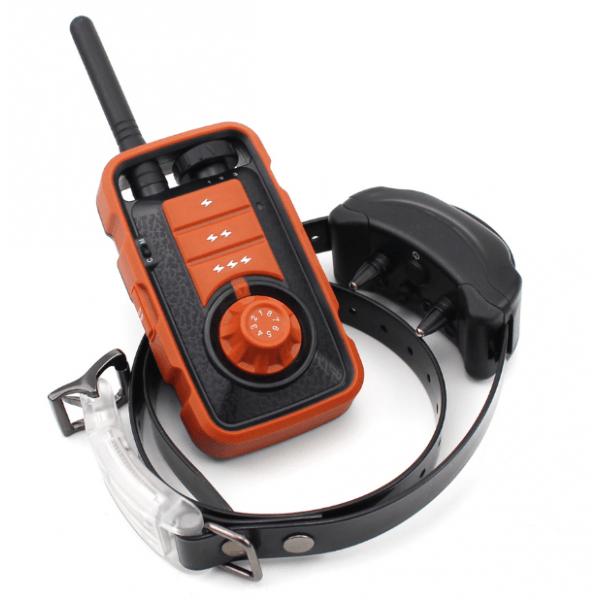 iPETS 610 800m hatótávú, elektromos nyakörv, vízálló adó és vevőegység vadászatra is kiváló