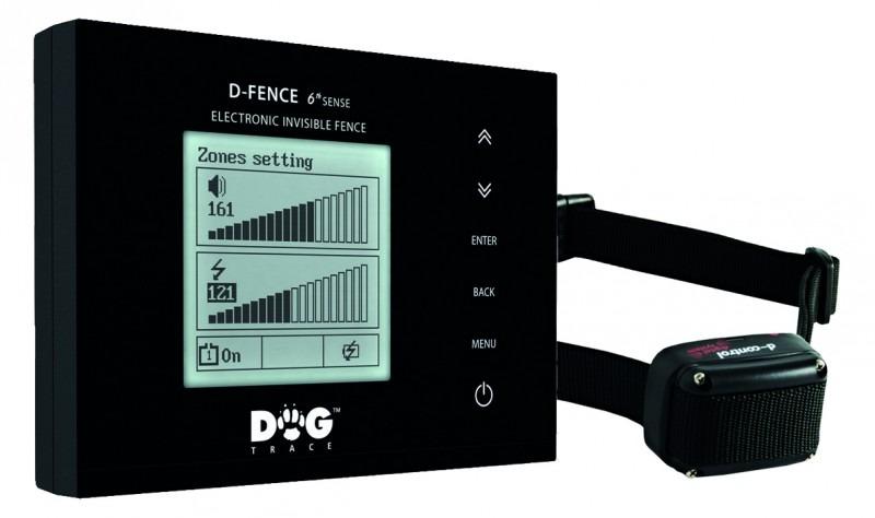 Láthatatlan kerítés, kutyakerítés Dogtrace D-Fence 202 fekete