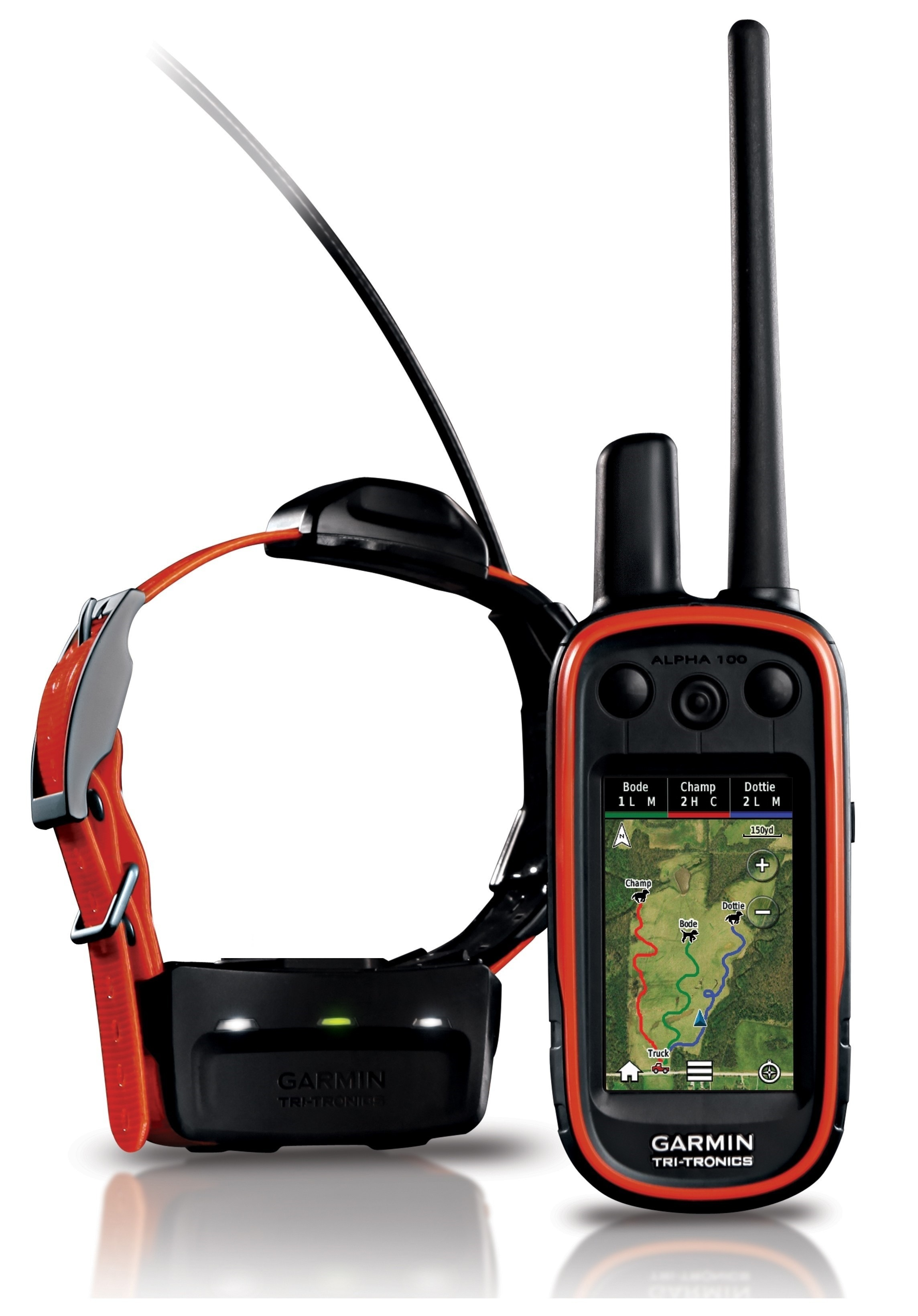 Garmin Alpha 100 + T5 + EU TOPO VHF kutya GPS nyomkövető
