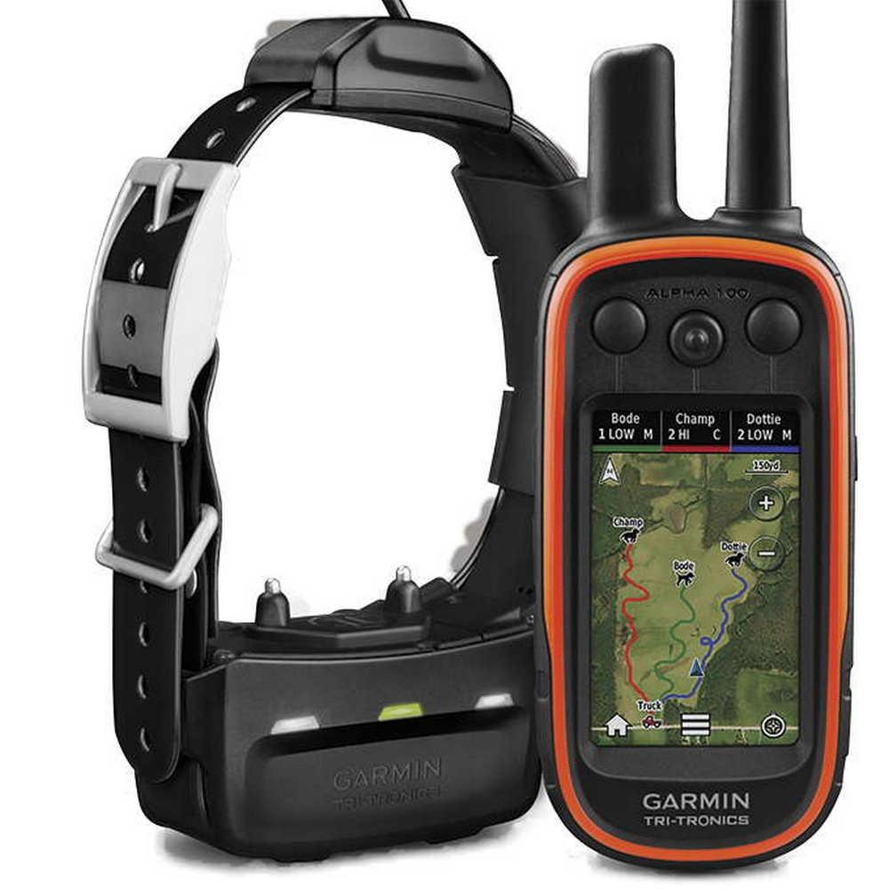 Garmin Alpha 100 + TT15 + EU TOPO VHF kutya GPS nyomkövető és elektromos nyakörv