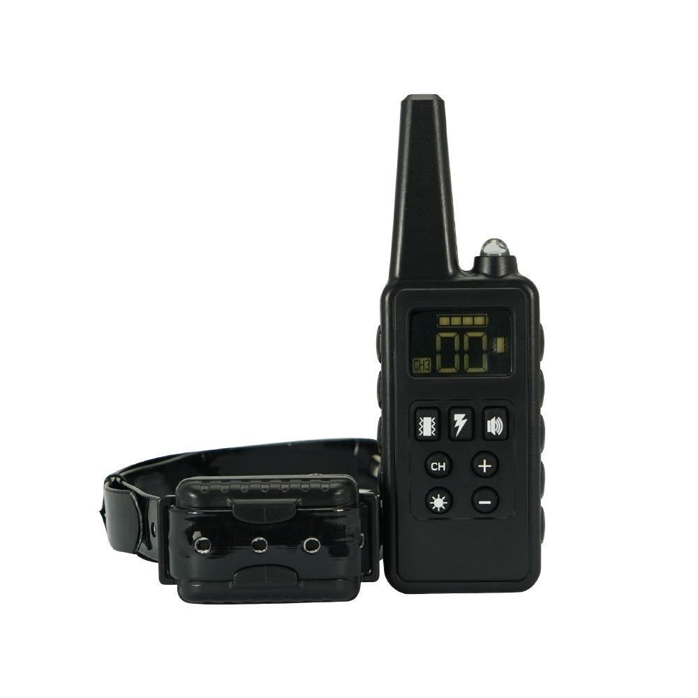 Benpet 780 fekete, 300m hatótávú, esőálló elektromos training kiképző nyakörv szett
