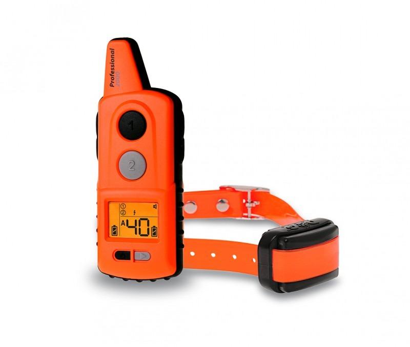 Dogtrace D-Control Professional 2000 mini ORANGE elektromos nyakörv 2000m hatótávú