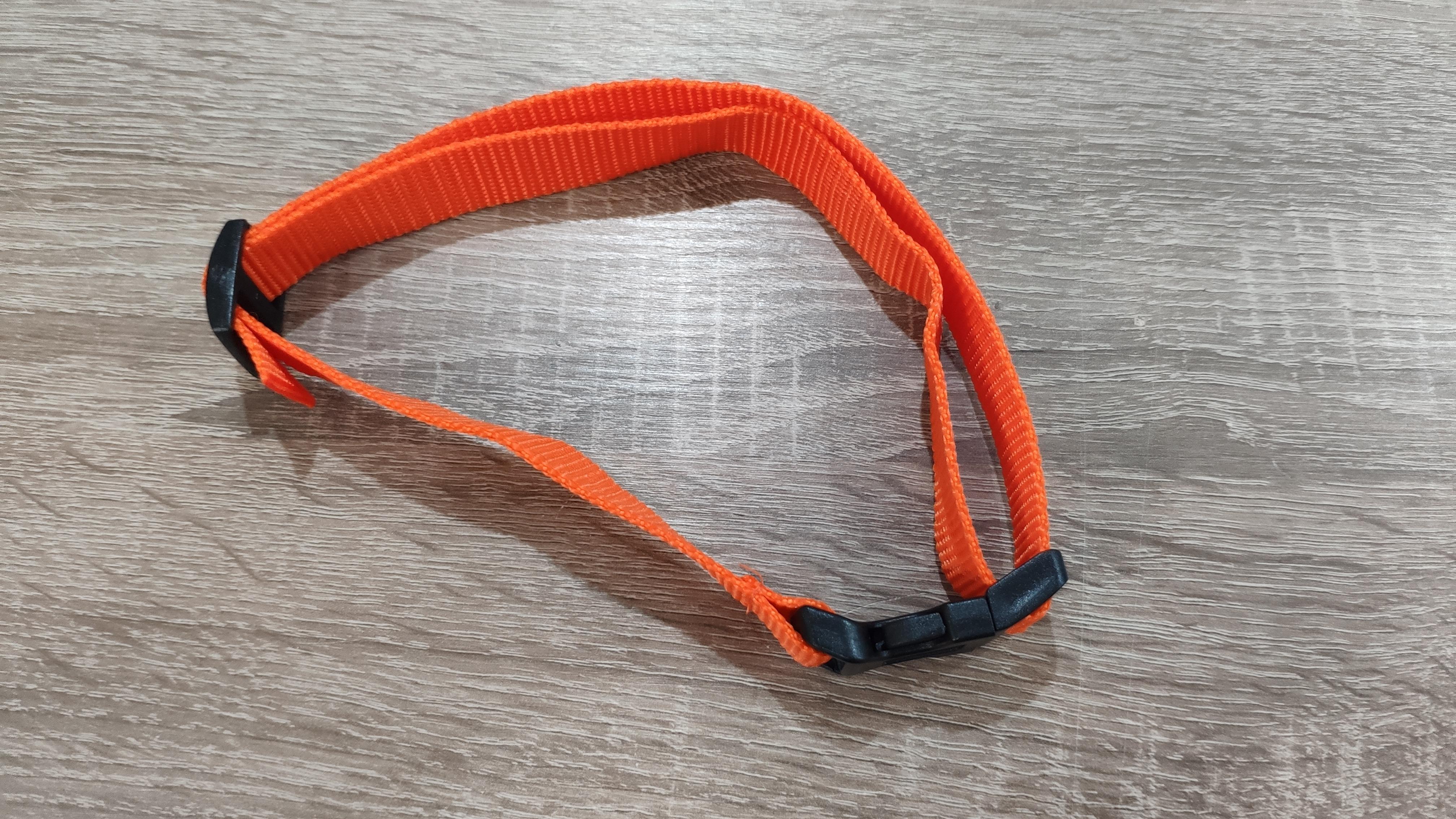 Narancssárga nyakörv szíj 2cmX70cm